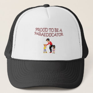 PROUD TO BE A PARAEDUCATOR TRUCKER HAT