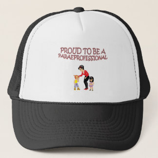 PROUD TO BE A PARAPROFESSIONAL TRUCKER HAT