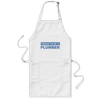 Proud to be a plumber long apron