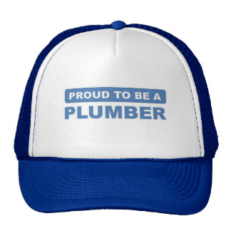Proud to be a plumber trucker hat