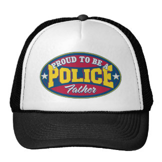 Proud to be a Police Father Trucker Hat