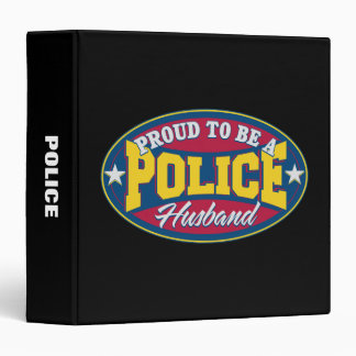 Proud to be a Police Husband Binder