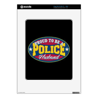 Proud to be a Police Husband Skins For The iPad