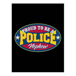 Proud to be a Police Nephew Postcard