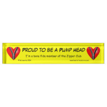 Proud to be a Pump Head Name Plate