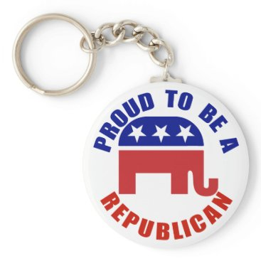 Republican_Gifts Proud To Be A Republican Original Keychain