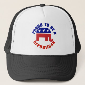 Proud To Be A Republican Original Trucker Hat