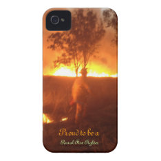 Proud To Be A Rural Fire Fighter Iphone 4g Btc Iphone 4 Cover at Zazzle