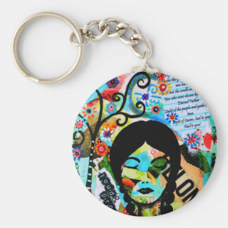 Proud to be a Scholastican Basic Round Button Keychain