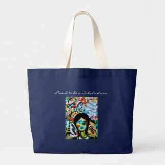 Proud to be a Scholastican Large Tote Bag