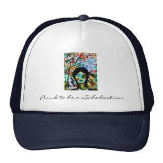 Proud to be a Scholastican Trucker Hat