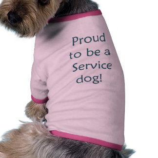 Proud to be a Service Dog Dog Clothes