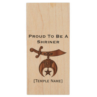 Proud To Be A Shriner Flash/Thumb Drive