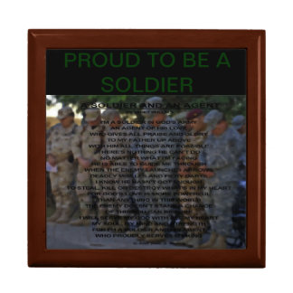 PROUD TO BE: A SOLDIER AND AN AGENT GIFT BOX