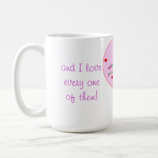 Proud to be a Teacher to Many Beautiful Students! Classic White Coffee Mug