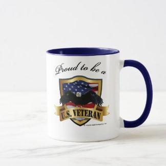 Proud to be a U.S.  Veteran Mug
