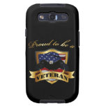Proud to be a Veteran Galaxy S3 Cover