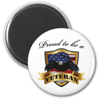 Proud to be a Veteran Refrigerator Magnets