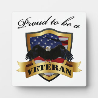 Proud to be a Veteran Plaques