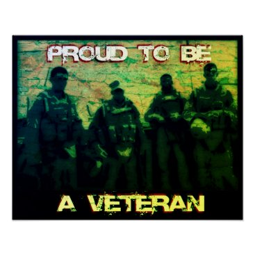 Proud to be a Veteran Poster