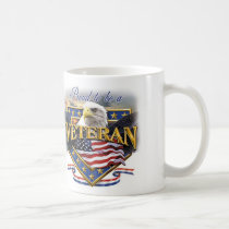 Proud To Be A Veteran Veterans Day Mug