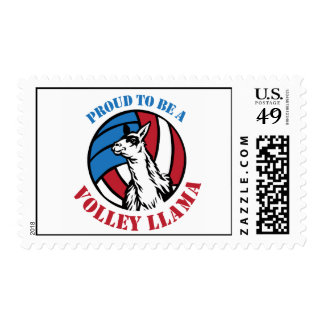 Proud to be a Volley Llama Stamps