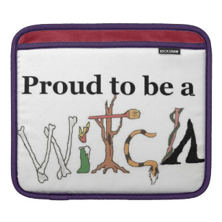 Proud to be a witch Macbook cover