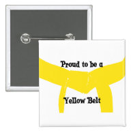 Proud to be a Yellow Belt Button