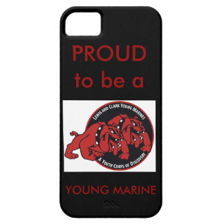 Proud to be a Young Marine (Black) - Lewis & Clark iPhone SE/5/5s Case