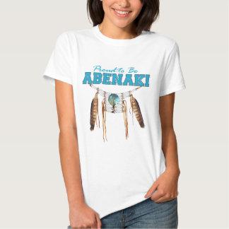 Proud to be Abenaki Tees