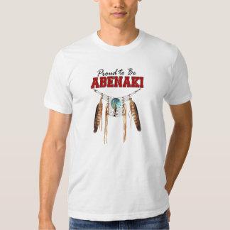 Proud to be Abenaki Tshirts