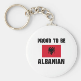 Proud To Be ALBANIAN Basic Round Button Keychain