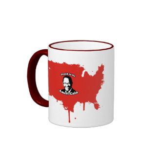Proud to be Ameri-Cain Ringer Coffee Mug