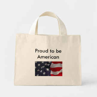 Proud to be American bag
