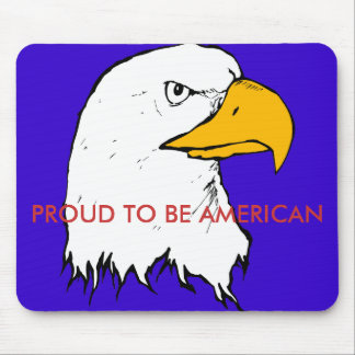 Proud to be American Mouse Pads