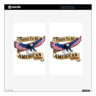 Proud to be American Skin For Kindle Fire