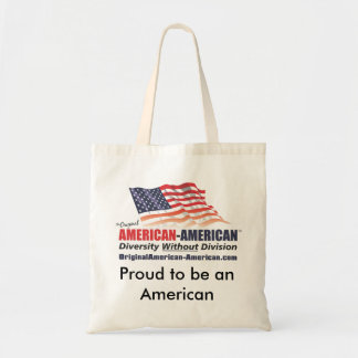 Proud to be American Tote Bag