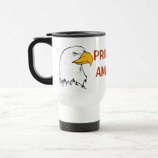 Proud to be American Travel Mug