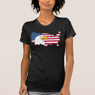 Proud to be American - US Flag T-Shirt