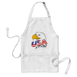 Proud to be American - USA Adult Apron