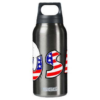 Proud to be American - USA Insulated Water Bottle