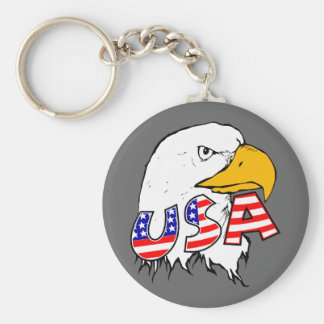 Proud to be American - USA Keychains