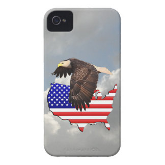 PROUD TO BE AN AMERICAN 2 iPhone 4 Case-Mate CASE