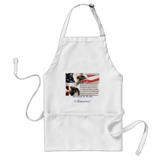 Proud to be an American! Adult Apron