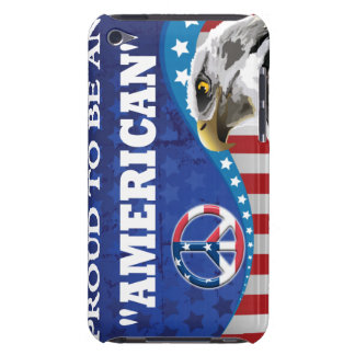 PROUD TO BE AN AMERICAN iPod TOUCH COVERS