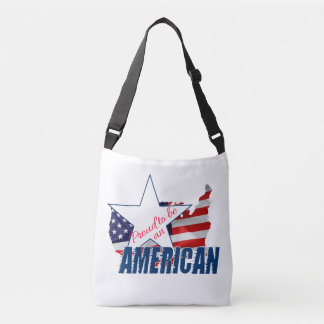 Proud to be an American Crossbody Bag