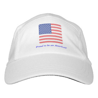 Proud to be an American! Headsweats Hat