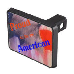 Proud to be an American Hitch Covers