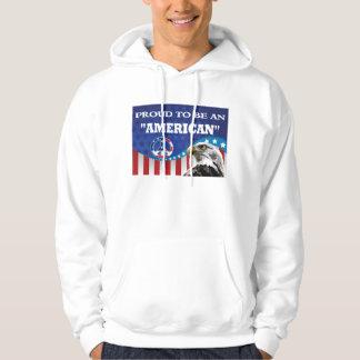 PROUD TO BE AN AMERICAN HOODIE