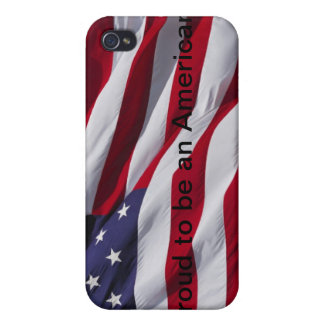 Proud to be an American. iPhone 4 Covers